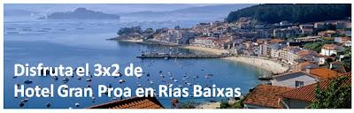 Oferta en la playa en Rías Baixas Galicia