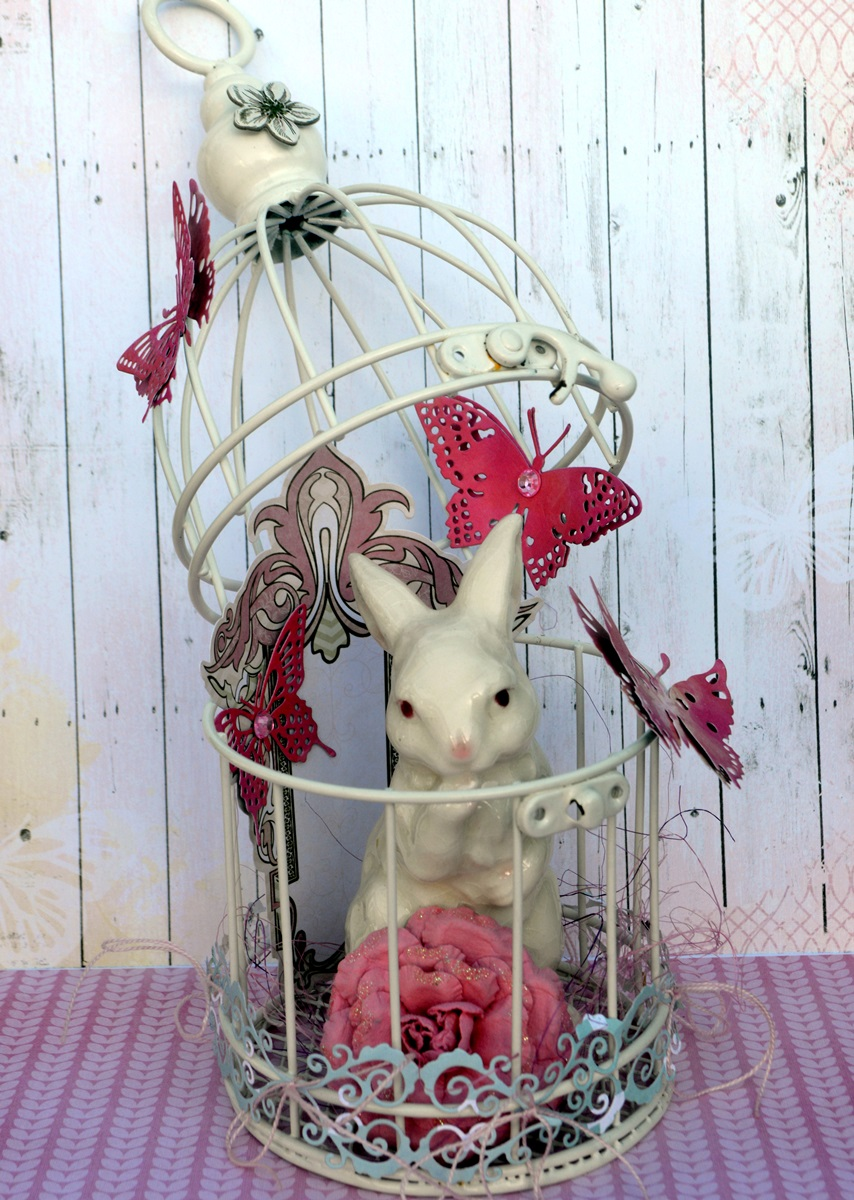 OTP project by Agnieszka Bellaidea for Bo Bunny featuring Sweet Life collection and new dies