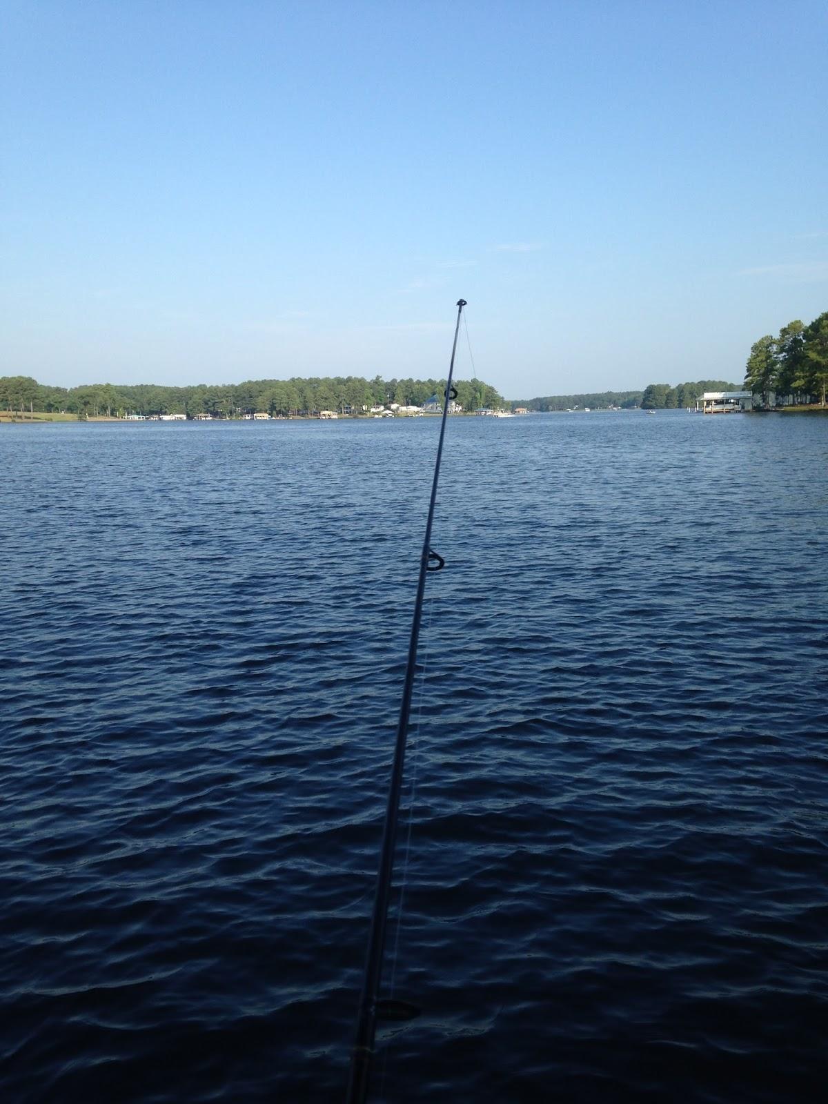 Hull of a view lake gaston for Lake gaston fishing