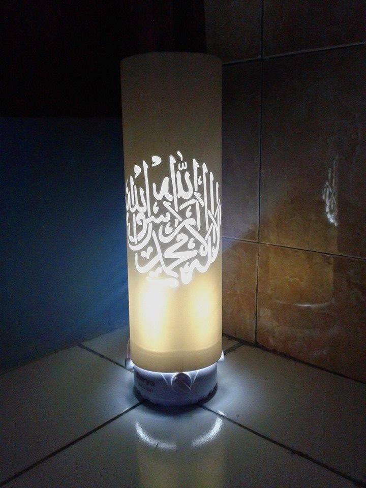 Membuat Lampu Hias Dari Pipa PVC