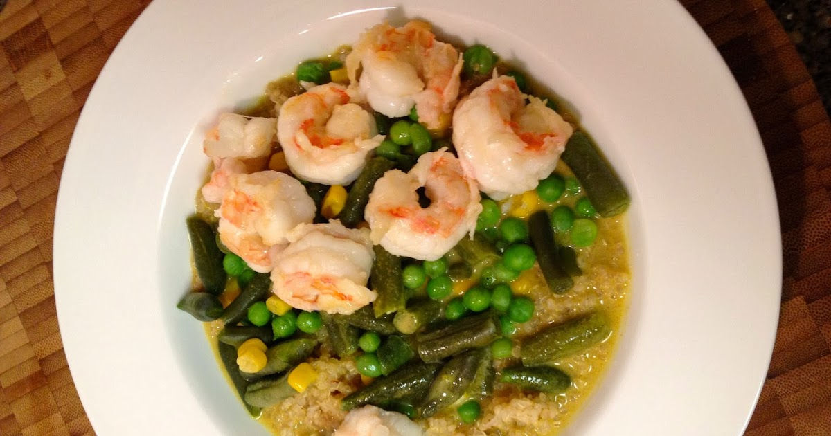 ... Baked Alaska Project: Coconut Curry with Quinoa and Alaska Spot Shrimp