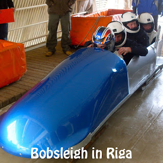 Stag Group Bobsleighing in Riga