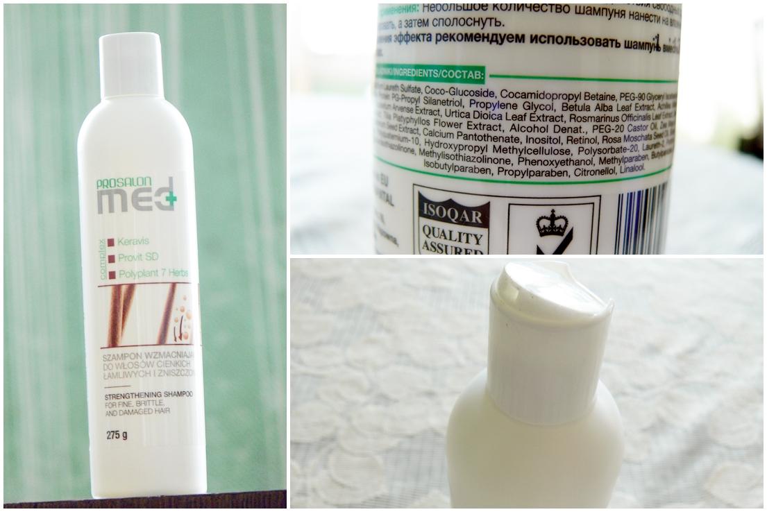 CHANTAL Prosalon Med, Szampon do włosów cienkich, łamliwych i zniszczonych skład