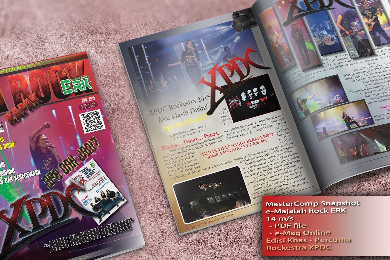 e-Mag - ERK - Rockestra XPDC  Edisi Khas