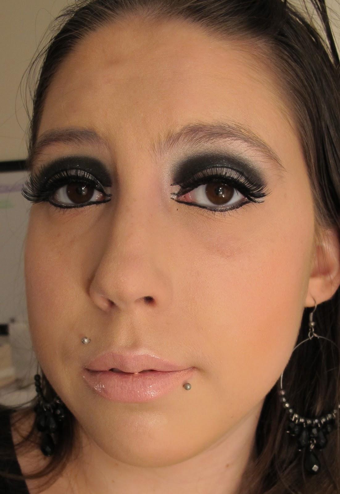 Steph Stud Makeup 60s Mod Makeup Look Using Mac And A Foundation