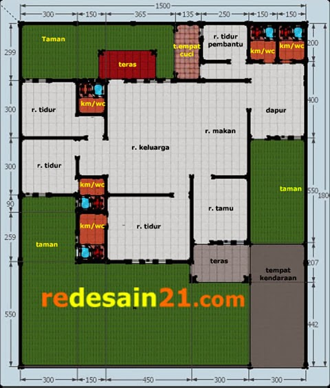 desain rumah minimalis dwg