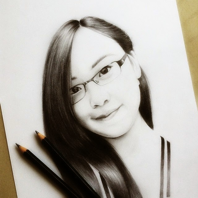 18-Birthday-Girl-Raymond-Gunawan-Minimalist-Celebrity-Drawings-mostly-Black-and-White-www-designstack-co