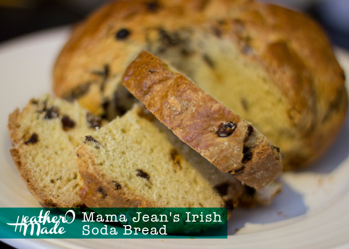 Irish Soda Bread recipe. heatheromade. st. patricks day. st pattys day