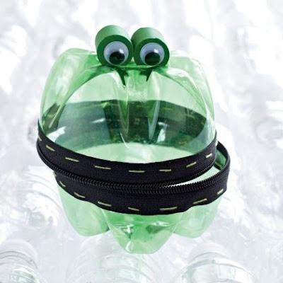 Żaba z butelki DIY Eco manufaktura