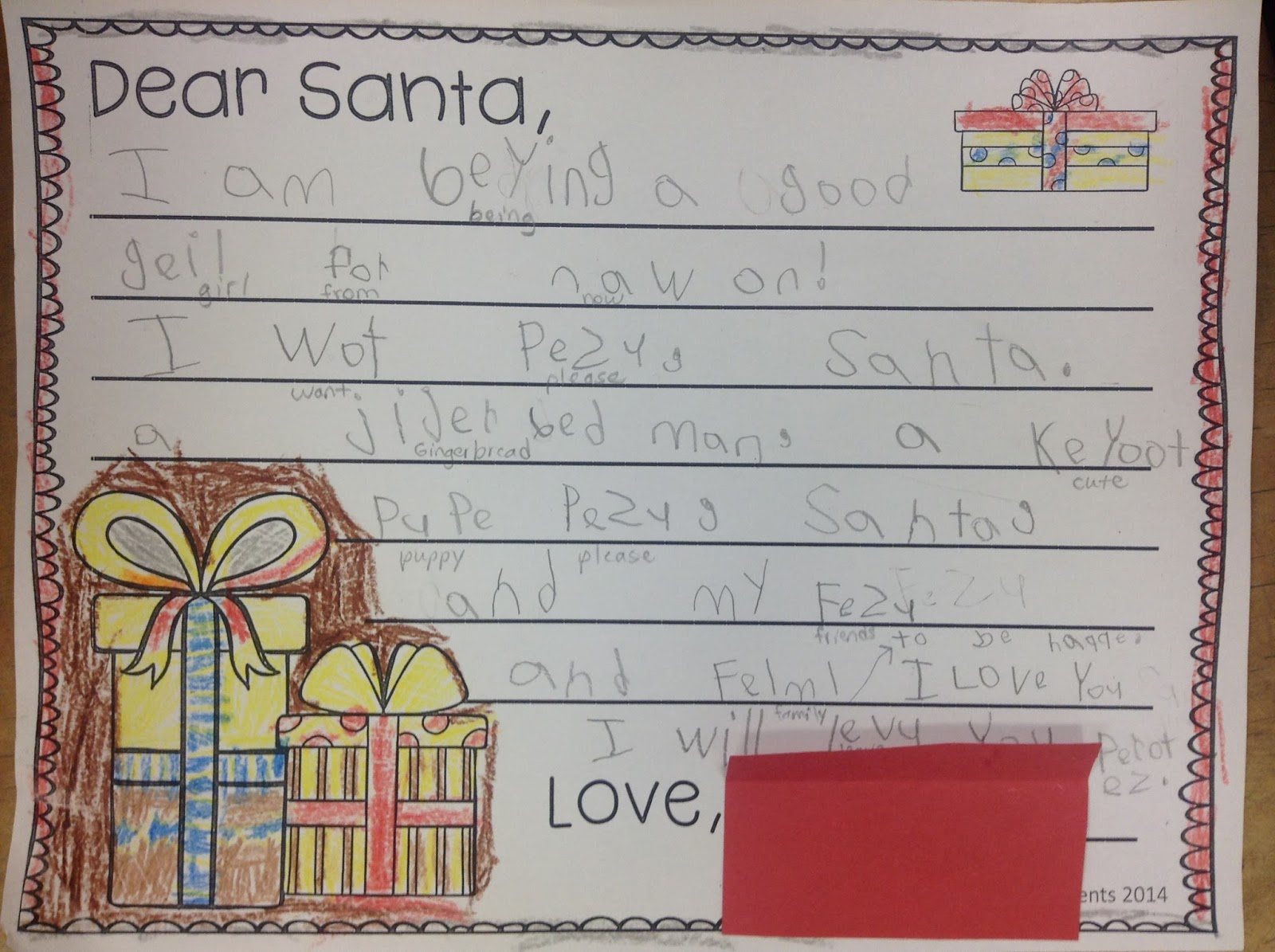 santa essay Unlike most editing & proofreading services, we edit for everything: grammar, spelling, punctuation, idea flow, sentence structure, & more get started now.