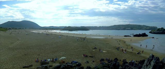 Playa de Ris en Noja