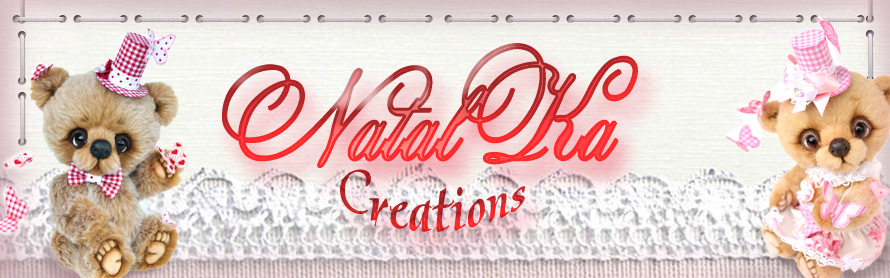 NatalKa Creations - teddies with charm
