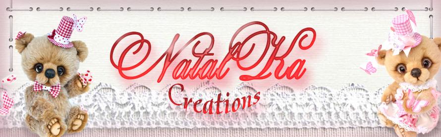 NatalKa Creations - teddies with charm