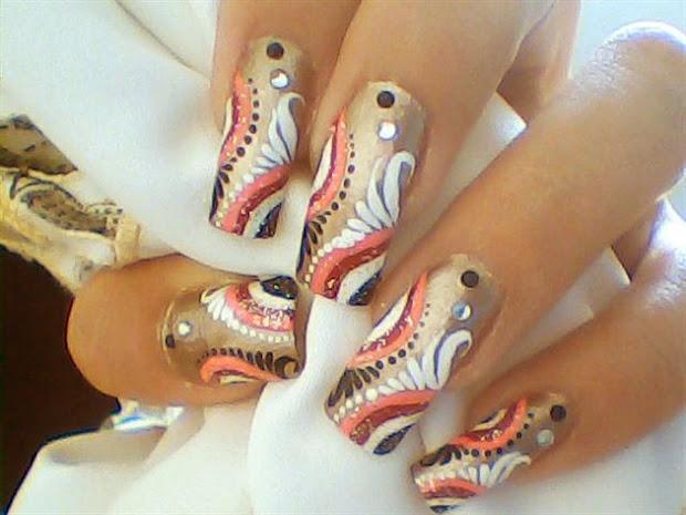 nail art design trends short