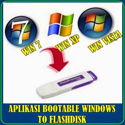 APLIKASI BOOTABLE WINDOWS TO FLASHDISK