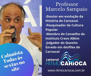 COLUNISTA MARCELO SAMPAIO