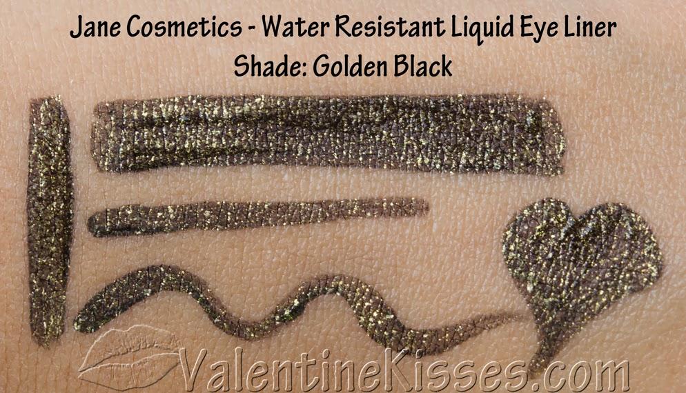 Valentine Kisses: Jane Cosmetics Water Resistant Liquid Eye Liner ...
