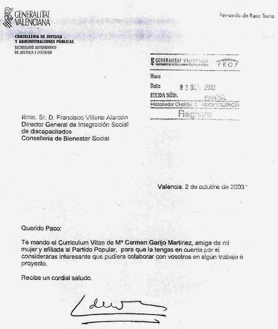 Una muestra de la corrupción española