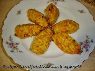 quenelles di carote e patate