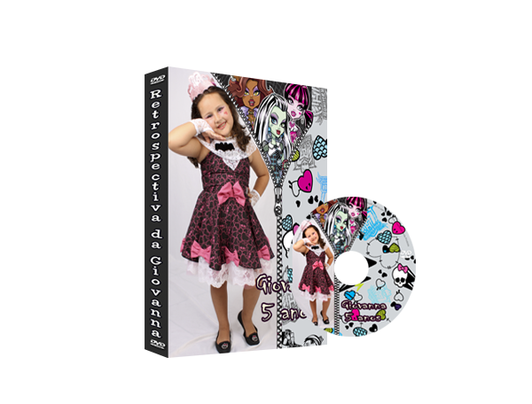 Capa de DVD Monster High
