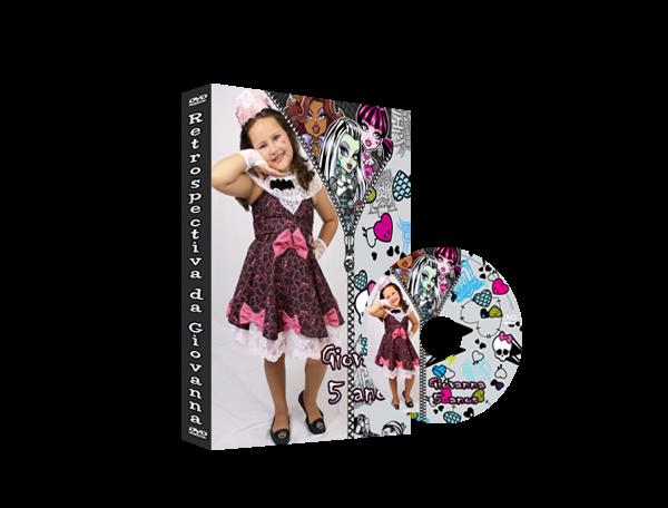 Capa de DVD Monster High