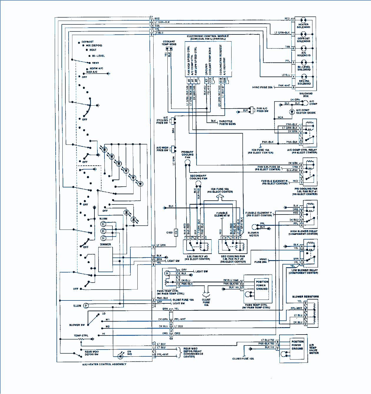 1992 Regal Buick Wiring Diagram