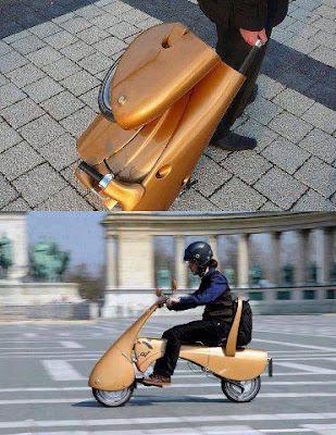 Moto plegable