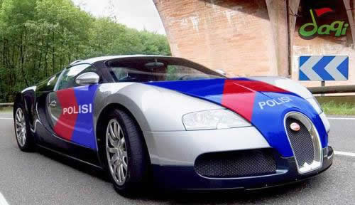Bugatti Veyron Police Car Sport
