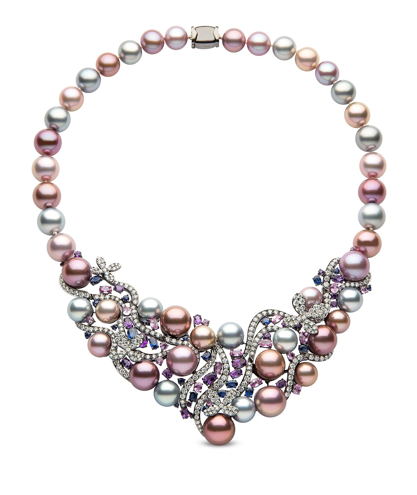 Jewelry news network pearl jewelry sheds its old image for High design jewelry nyc