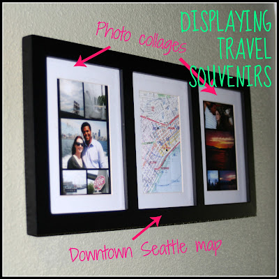 DIY travel souvenir display project