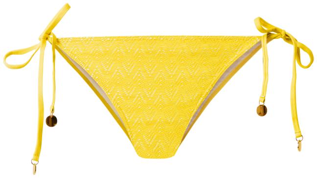 Beyoncé for H&M Summer 2013 - yellow bikini bottom