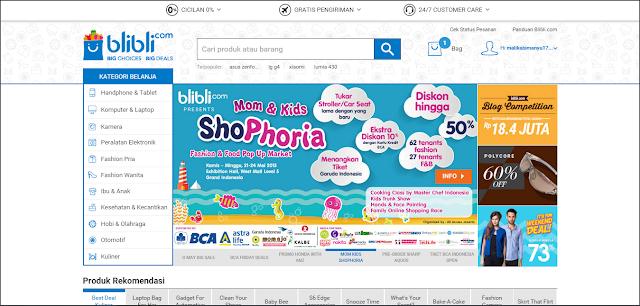 Belanja Online Dengan Ongkir Gratis? Di Blibli Aja!