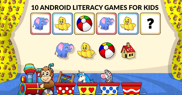 10 Kids Literacy Games On Android | FromDev