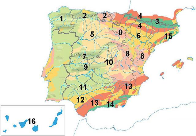 Ejercicios pr cticos apuntes y esquemas de geografia de for Exteriores espana