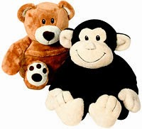 Peluche Mono y Osito