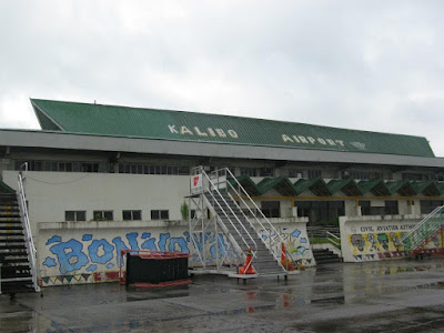 Kalibo Airport in Boracay The Philippines