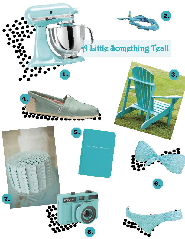 An aesthetic whim color of the week - Teal kitchen appliances ...