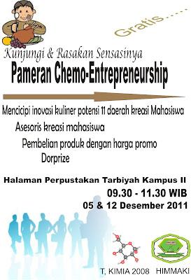 pameran chemo-entrepreneurship