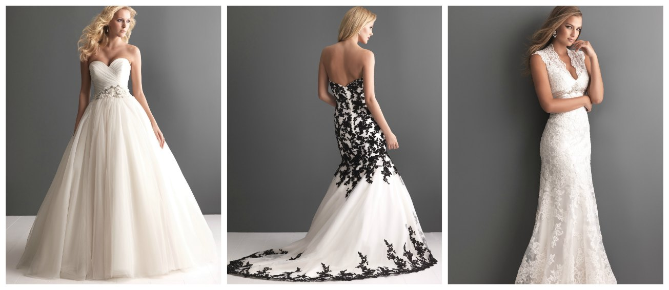 bridal dresses by Allure Romance