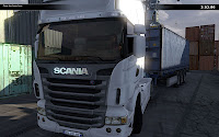 Scania truck driver simulator game Woman_driver_04