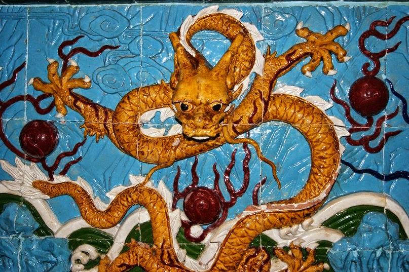 Дракон змеиный в душе живущий...