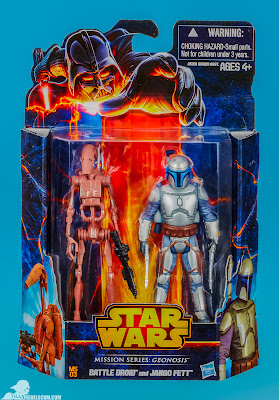 Hasbro Star Wars Mission Series: Geonosis - Battle Droid & Jango Fett Figures