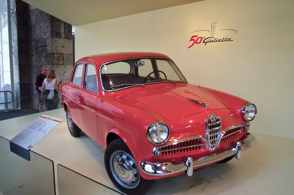 Il Mondo Delle Auto Giulietta 1955