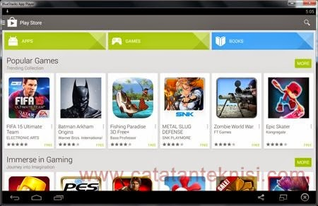 menjalankan android di windows komputer