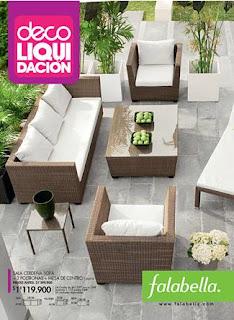 Catalogo falabella deco liquidacion enero 2013 colombia for Liquidacion muebles terraza