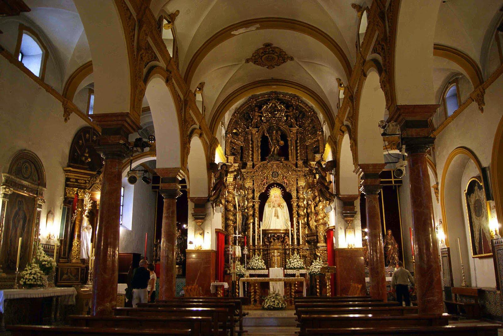 Leyendas de sevilla iglesia de nuestra se ora de la o i for Ministerio del interior sevilla