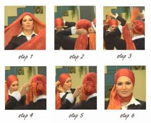 cara memakai hijab - model jilbab terbaru
