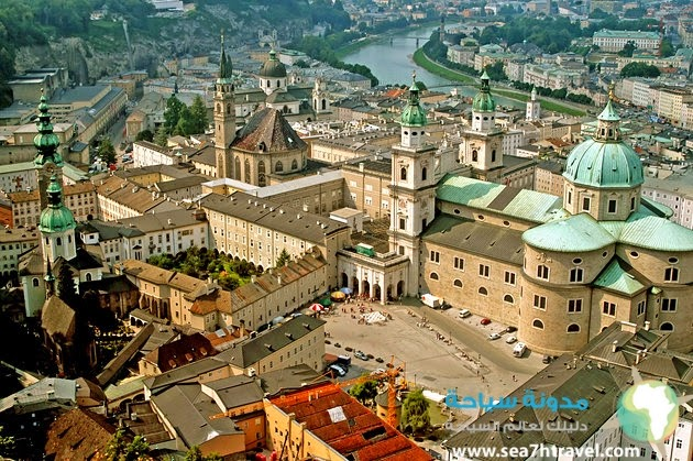 كاتدرائية سالزبورغ من معالم سالزبورغ المميزة