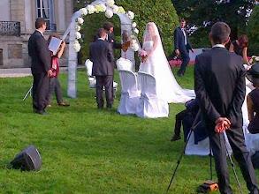 Animation de mariages, en extérieur...