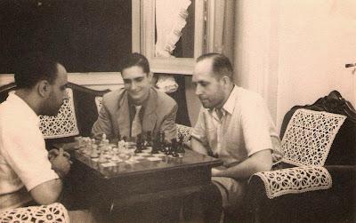 Partida de ajedrez Alfonso Dotras y Àngel Ribera en 1949